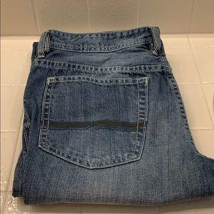 Driven basic straight jeans